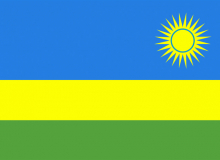 Rwanda vlajka
