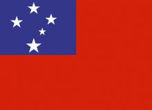 Samoa vlajka