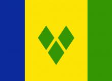 Svatý Vincenca Grenadiny vlajka