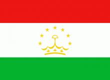 Tádžikistán vlajka