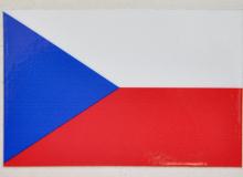 Samolepka vlajky ČR