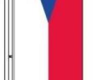 vlajka čr na stožár