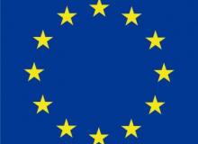Vlajka Evropské unie – zástava s tunýlkem