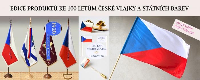 Edice produktů ke 100 letům české vlajky a státních barev